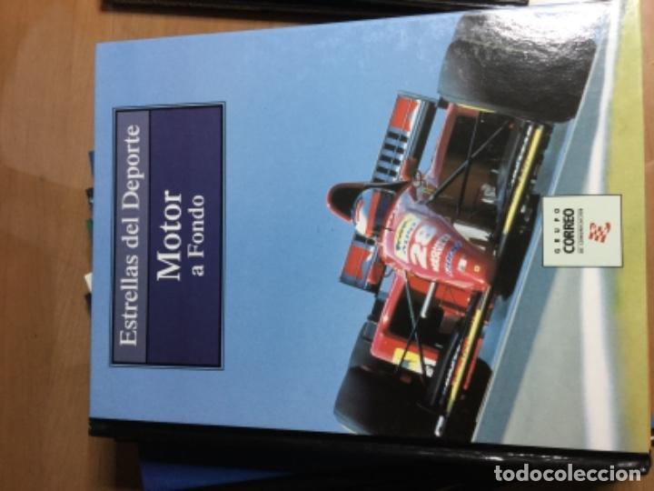 Coleccionismo deportivo: Colección completa de 10 tomos de ESTRELLAS DEL DEPORTE - Foto 5 - 149504862