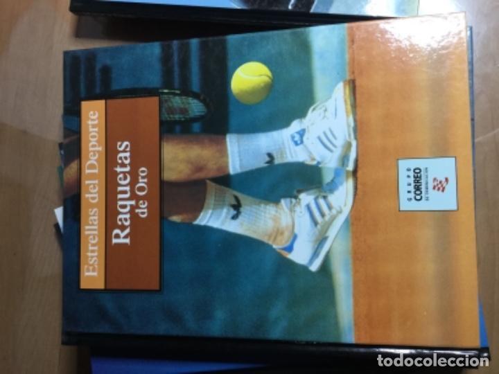 Coleccionismo deportivo: Colección completa de 10 tomos de ESTRELLAS DEL DEPORTE - Foto 6 - 149504862