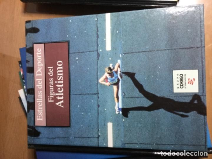 Coleccionismo deportivo: Colección completa de 10 tomos de ESTRELLAS DEL DEPORTE - Foto 7 - 149504862