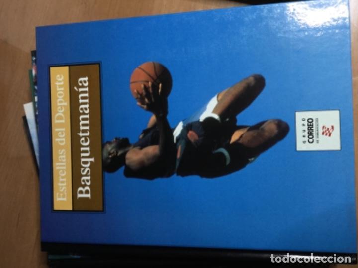 Coleccionismo deportivo: Colección completa de 10 tomos de ESTRELLAS DEL DEPORTE - Foto 8 - 149504862