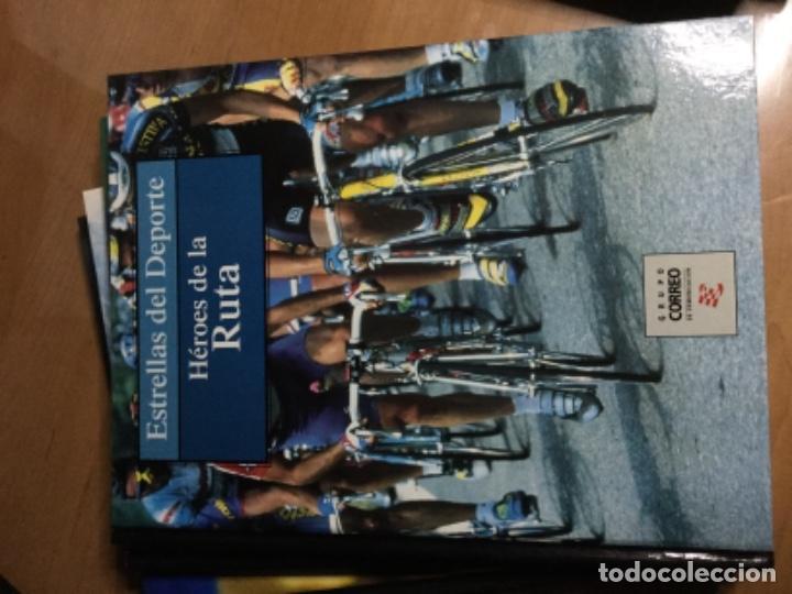 Coleccionismo deportivo: Colección completa de 10 tomos de ESTRELLAS DEL DEPORTE - Foto 9 - 149504862