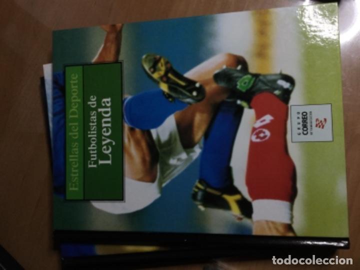 Coleccionismo deportivo: Colección completa de 10 tomos de ESTRELLAS DEL DEPORTE - Foto 10 - 149504862