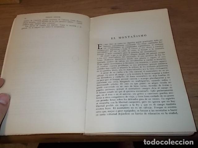 Coleccionismo deportivo: MONTAÑISMO. ENRIQUE GENOVÉS. ED. JUVENTUD. 2ª EDICIÓN 1961. EXCELENTE EJEMPLAR. VER FOTOS. - Foto 5 - 149565258