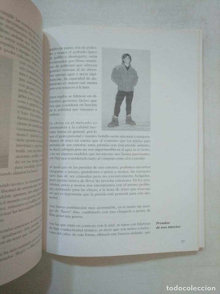 Coleccionismo deportivo: MANUAL DE ESCALADA EN HIELO Y NIEVE. MAXIMO MURCIA. 2ª SEGUNDA EDICION REVISADA. DESNIVEL. TDKLT - Foto 3 - 151729446