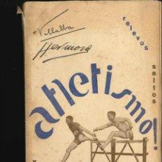 Coleccionismo deportivo: ATLETISMO RELEVOS Y SALTOS 1929. Lote 151735442