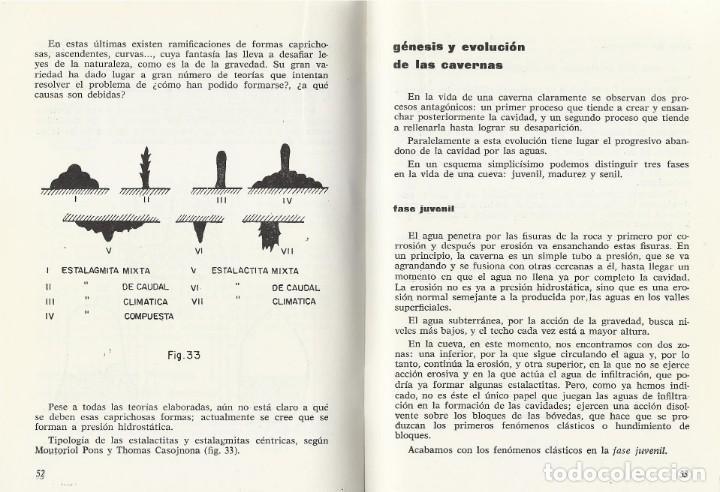Coleccionismo deportivo: ESPELEOLOGÍA, Jeronimo Saiz - Foto 2 - 152365654