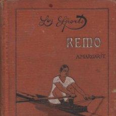 Coleccionismo deportivo: REMO, ARNALDO MARGARIT. Lote 152366574