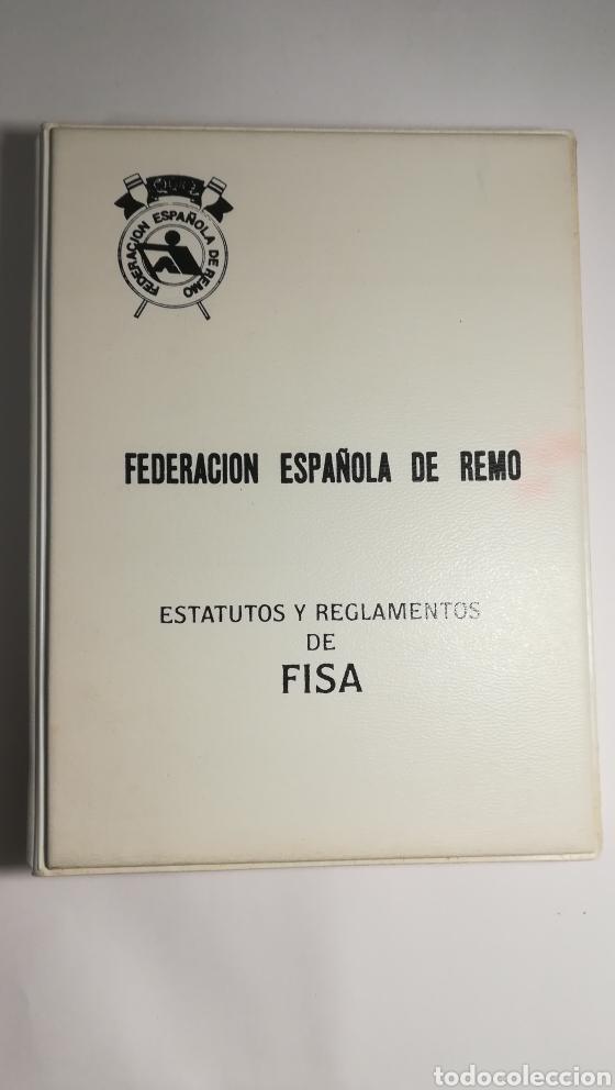 FEDERACION ESPAÑOLA DE REMO REGLAMENTO FISA 1993 (Coleccionismo Deportivo - Libros de Deportes - Otros)