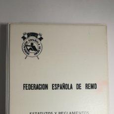 Coleccionismo deportivo: FEDERACION ESPAÑOLA DE REMO REGLAMENTO FISA 1993. Lote 152467194