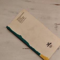 Coleccionismo deportivo: PRIMERA EDICIÓN LIBRO CALENDARIO COMPETICIONES JUEGOS OLIMPICOS BARCELONA 92. Lote 152477474