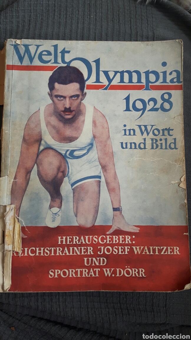 WELT OLYMPIA 1928 IN WORT UND BILD . REVISTA ALEMANA 176 PÁGINAS (Coleccionismo Deportivo - Libros de Deportes - Otros)