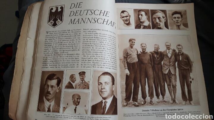 Coleccionismo deportivo: Welt Olympia 1928 in Wort und Bild . Revista alemana 176 páginas - Foto 4 - 153450590