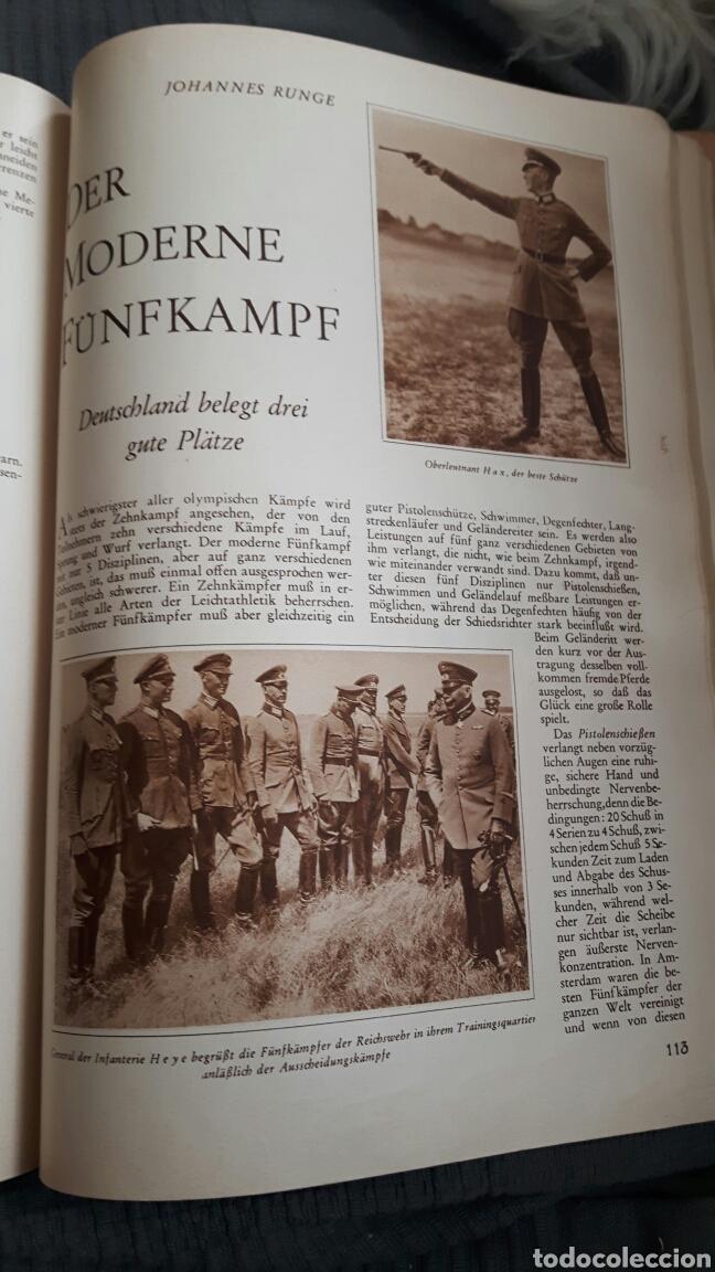 Coleccionismo deportivo: Welt Olympia 1928 in Wort und Bild . Revista alemana 176 páginas - Foto 7 - 153450590