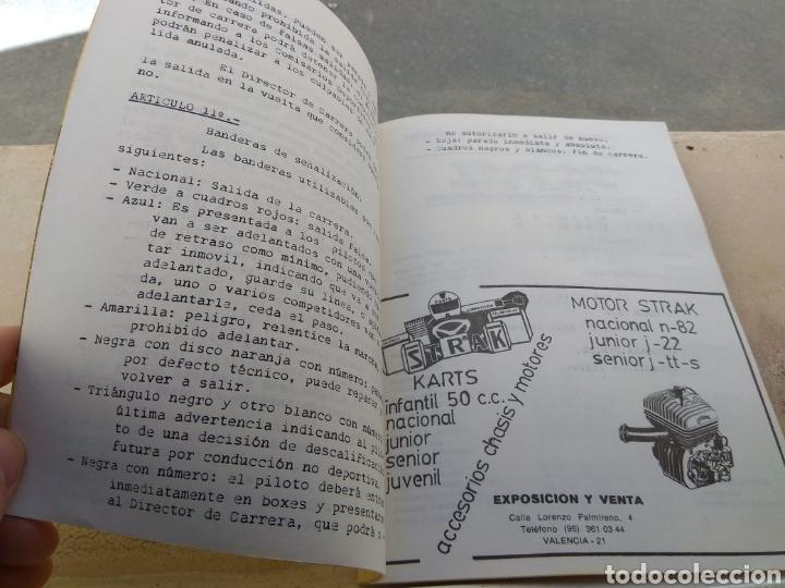 Coleccionismo deportivo: Antiguo Reglamento del Campeonato de Karting de Levante 1983 - Foto 5 - 153698901