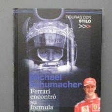 Coleccionismo deportivo: MICHAEL SCHUMACHER - FIGURAS CON STILO - DIARIO MARCA 2002 - FORMULA 1 - COMO NUEVO. Lote 155464638