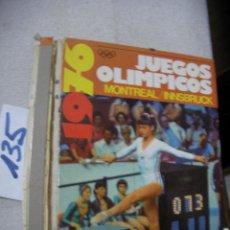Coleccionismo deportivo: ANTIGUO LIBRO DE LOS JUEGOS OLIMPICOS MONTREAL1976 . Lote 156656474