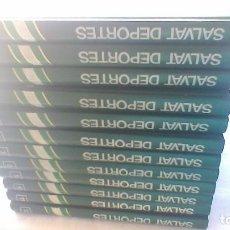 Coleccionismo deportivo: ENCICLOPEDIA SALVAT DE LOS DEPORTES - 12 TOMOS - VER FOTOS INDICES CONTENIDO. Lote 156676030