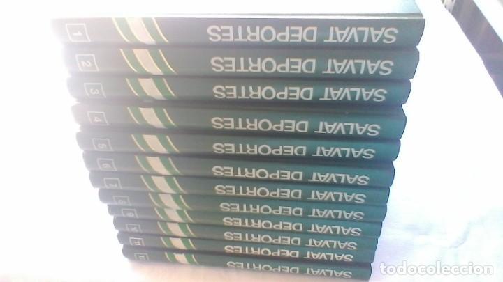 Coleccionismo deportivo: ENCICLOPEDIA SALVAT DE LOS DEPORTES - 12 TOMOS - VER FOTOS INDICES CONTENIDO - Foto 5 - 156676030