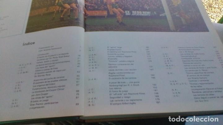 Coleccionismo deportivo: ENCICLOPEDIA SALVAT DE LOS DEPORTES - 12 TOMOS - VER FOTOS INDICES CONTENIDO - Foto 9 - 156676030