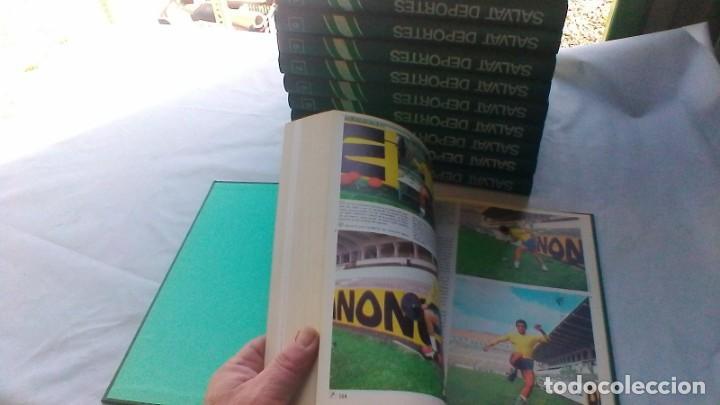 Coleccionismo deportivo: ENCICLOPEDIA SALVAT DE LOS DEPORTES - 12 TOMOS - VER FOTOS INDICES CONTENIDO - Foto 12 - 156676030