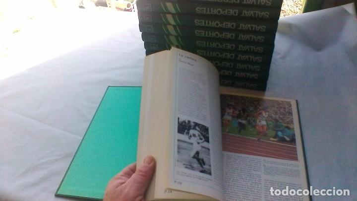 Coleccionismo deportivo: ENCICLOPEDIA SALVAT DE LOS DEPORTES - 12 TOMOS - VER FOTOS INDICES CONTENIDO - Foto 13 - 156676030