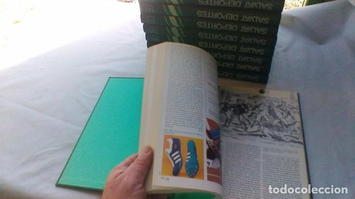 Coleccionismo deportivo: ENCICLOPEDIA SALVAT DE LOS DEPORTES - 12 TOMOS - VER FOTOS INDICES CONTENIDO - Foto 14 - 156676030