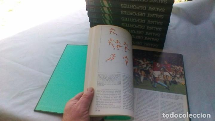 Coleccionismo deportivo: ENCICLOPEDIA SALVAT DE LOS DEPORTES - 12 TOMOS - VER FOTOS INDICES CONTENIDO - Foto 15 - 156676030