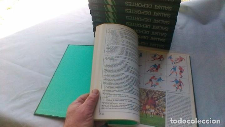 Coleccionismo deportivo: ENCICLOPEDIA SALVAT DE LOS DEPORTES - 12 TOMOS - VER FOTOS INDICES CONTENIDO - Foto 16 - 156676030