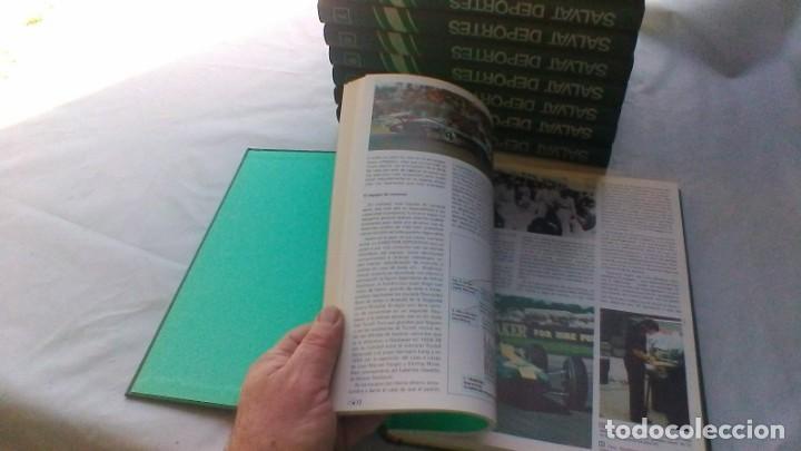 Coleccionismo deportivo: ENCICLOPEDIA SALVAT DE LOS DEPORTES - 12 TOMOS - VER FOTOS INDICES CONTENIDO - Foto 17 - 156676030
