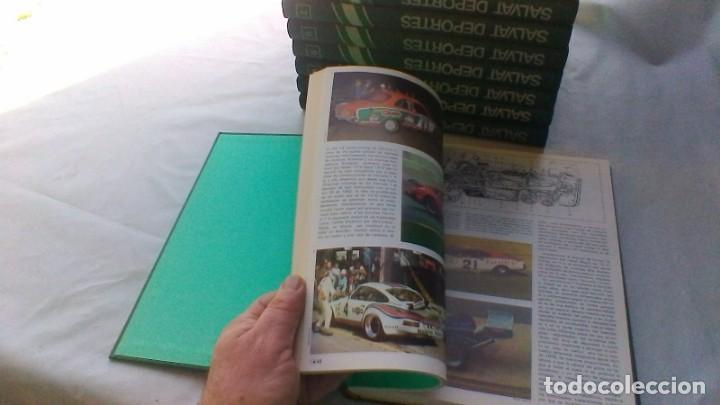 Coleccionismo deportivo: ENCICLOPEDIA SALVAT DE LOS DEPORTES - 12 TOMOS - VER FOTOS INDICES CONTENIDO - Foto 18 - 156676030