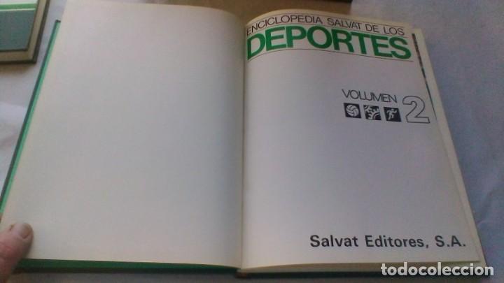 Coleccionismo deportivo: ENCICLOPEDIA SALVAT DE LOS DEPORTES - 12 TOMOS - VER FOTOS INDICES CONTENIDO - Foto 20 - 156676030