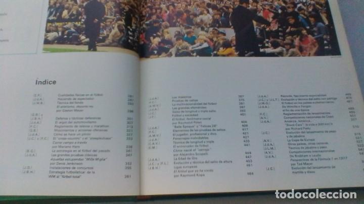 Coleccionismo deportivo: ENCICLOPEDIA SALVAT DE LOS DEPORTES - 12 TOMOS - VER FOTOS INDICES CONTENIDO - Foto 21 - 156676030