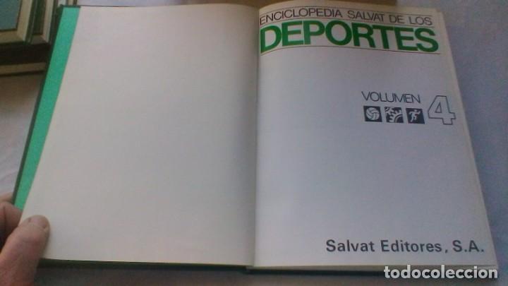 Coleccionismo deportivo: ENCICLOPEDIA SALVAT DE LOS DEPORTES - 12 TOMOS - VER FOTOS INDICES CONTENIDO - Foto 36 - 156676030
