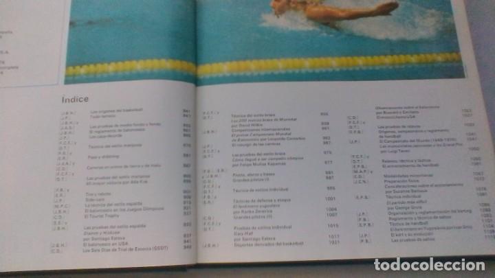 Coleccionismo deportivo: ENCICLOPEDIA SALVAT DE LOS DEPORTES - 12 TOMOS - VER FOTOS INDICES CONTENIDO - Foto 37 - 156676030