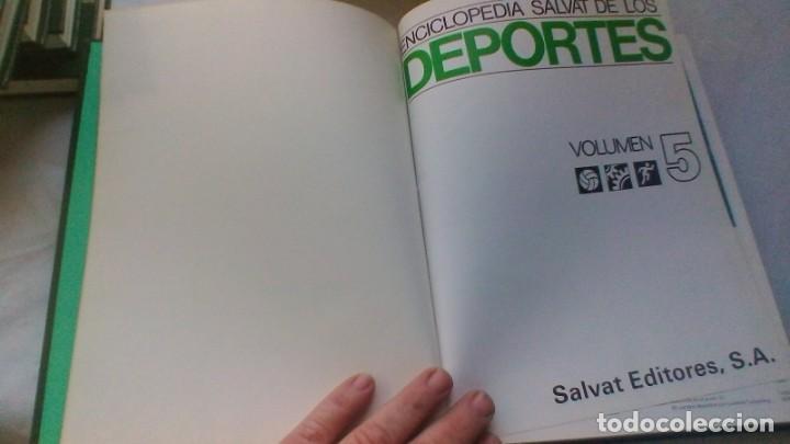 Coleccionismo deportivo: ENCICLOPEDIA SALVAT DE LOS DEPORTES - 12 TOMOS - VER FOTOS INDICES CONTENIDO - Foto 45 - 156676030