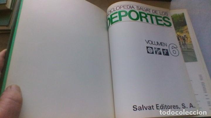 Coleccionismo deportivo: ENCICLOPEDIA SALVAT DE LOS DEPORTES - 12 TOMOS - VER FOTOS INDICES CONTENIDO - Foto 54 - 156676030