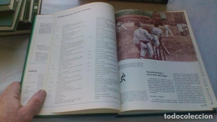 Coleccionismo deportivo: ENCICLOPEDIA SALVAT DE LOS DEPORTES - 12 TOMOS - VER FOTOS INDICES CONTENIDO - Foto 57 - 156676030