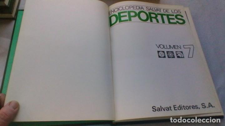 Coleccionismo deportivo: ENCICLOPEDIA SALVAT DE LOS DEPORTES - 12 TOMOS - VER FOTOS INDICES CONTENIDO - Foto 64 - 156676030