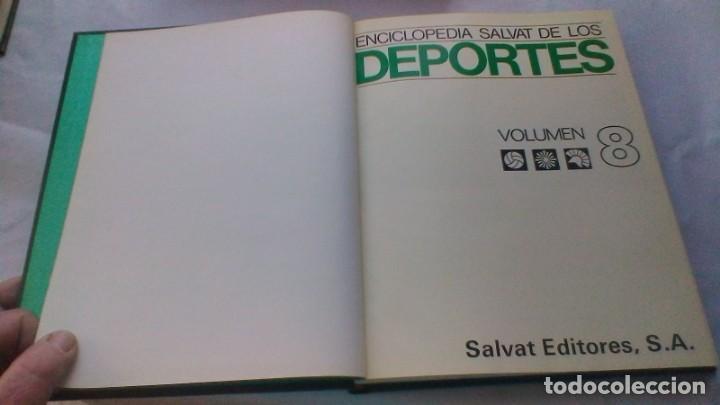 Coleccionismo deportivo: ENCICLOPEDIA SALVAT DE LOS DEPORTES - 12 TOMOS - VER FOTOS INDICES CONTENIDO - Foto 76 - 156676030