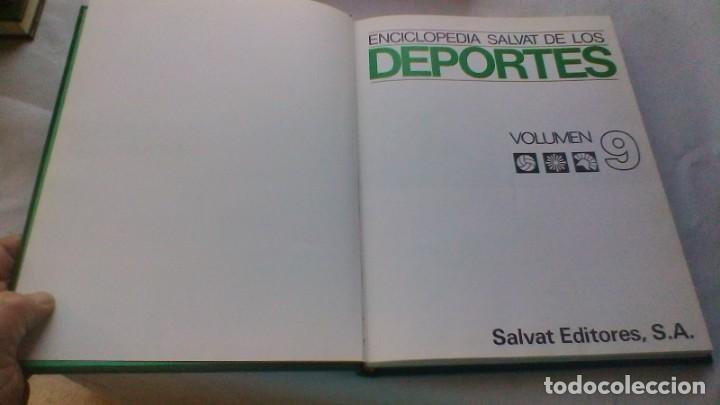 Coleccionismo deportivo: ENCICLOPEDIA SALVAT DE LOS DEPORTES - 12 TOMOS - VER FOTOS INDICES CONTENIDO - Foto 85 - 156676030