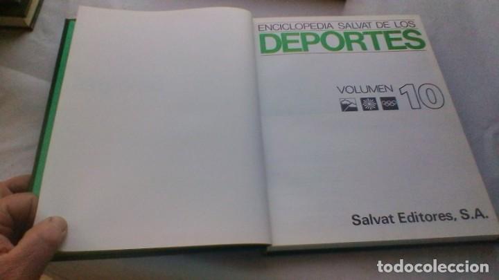Coleccionismo deportivo: ENCICLOPEDIA SALVAT DE LOS DEPORTES - 12 TOMOS - VER FOTOS INDICES CONTENIDO - Foto 98 - 156676030