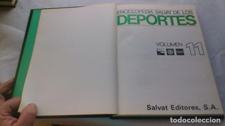 Coleccionismo deportivo: ENCICLOPEDIA SALVAT DE LOS DEPORTES - 12 TOMOS - VER FOTOS INDICES CONTENIDO - Foto 111 - 156676030