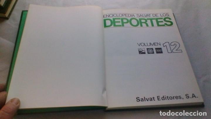 Coleccionismo deportivo: ENCICLOPEDIA SALVAT DE LOS DEPORTES - 12 TOMOS - VER FOTOS INDICES CONTENIDO - Foto 121 - 156676030
