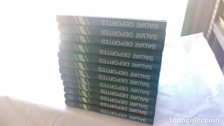 Coleccionismo deportivo: ENCICLOPEDIA SALVAT DE LOS DEPORTES - 12 TOMOS - VER FOTOS INDICES CONTENIDO - Foto 2 - 156676030