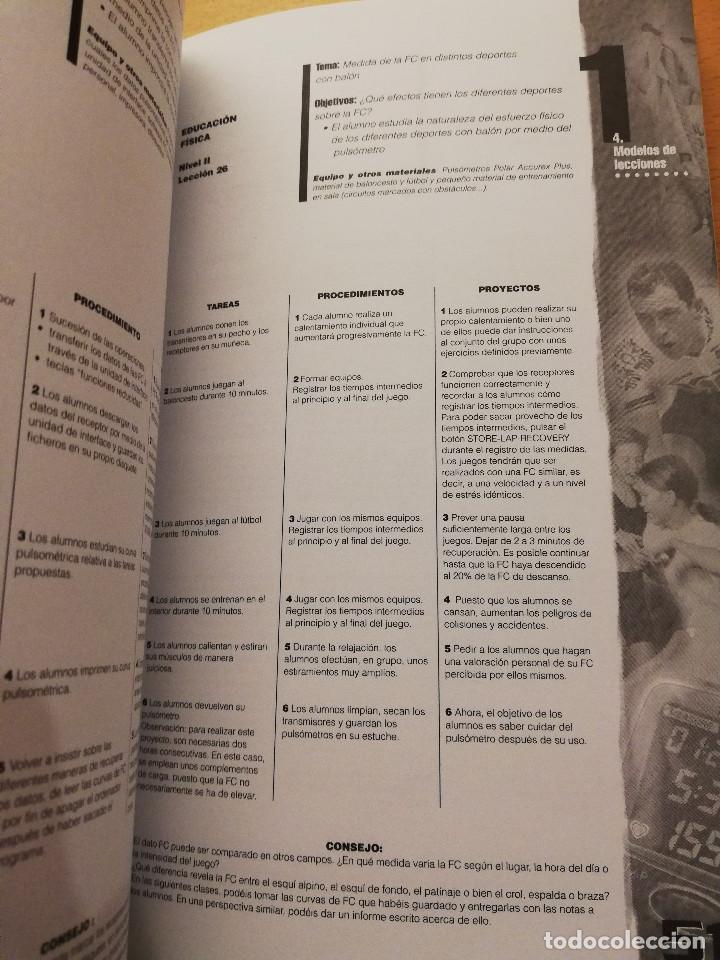 Coleccionismo deportivo: EDUCACIÓN FÍSICA Y DEPORTIVA CON EL PULSÓMETRO. MANUAL DE APRENDIZAJE - Foto 5 - 156785094