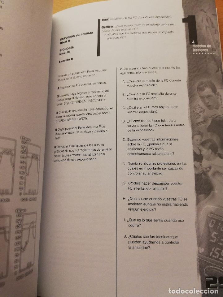 Coleccionismo deportivo: EDUCACIÓN FÍSICA Y DEPORTIVA CON EL PULSÓMETRO. MANUAL DE APRENDIZAJE - Foto 7 - 156785094