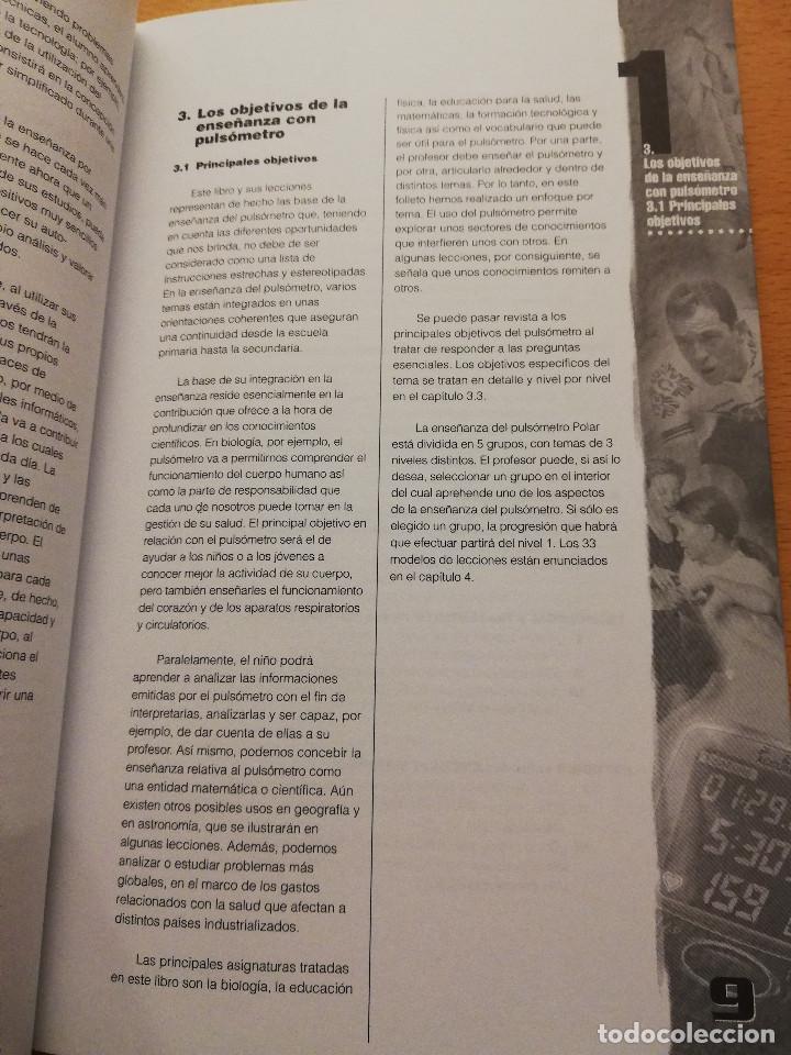 Coleccionismo deportivo: EDUCACIÓN FÍSICA Y DEPORTIVA CON EL PULSÓMETRO. MANUAL DE APRENDIZAJE - Foto 8 - 156785094
