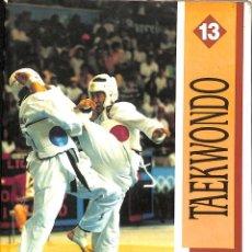 Coleccionismo deportivo: TAEKWONDO -FARGAS, IRENE. Lote 156920638