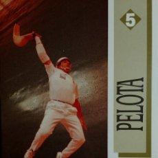 Coleccionismo deportivo: PELOTA. 1ª ED. MADRID : COMITÉ OLÍMPICO ESPAÑOL, 1991. (LOS DEPORTES OLÍMPICOS ; 5). . Lote 157001006