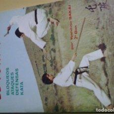 Coleccionismo deportivo: EL TONFA BLOQUEOS ATAQUES DEFENASAS KATA YOSHIHITO SAKAI. Lote 158621610